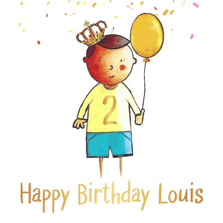 ✨🎈👑Happy 2nd Birthday Prince Louis, we hope you have a wonderful day! 👑🎈✨#twotoday #timeflies #happybirthday #princelouis https://t.co/UfpIOxUZ7Z