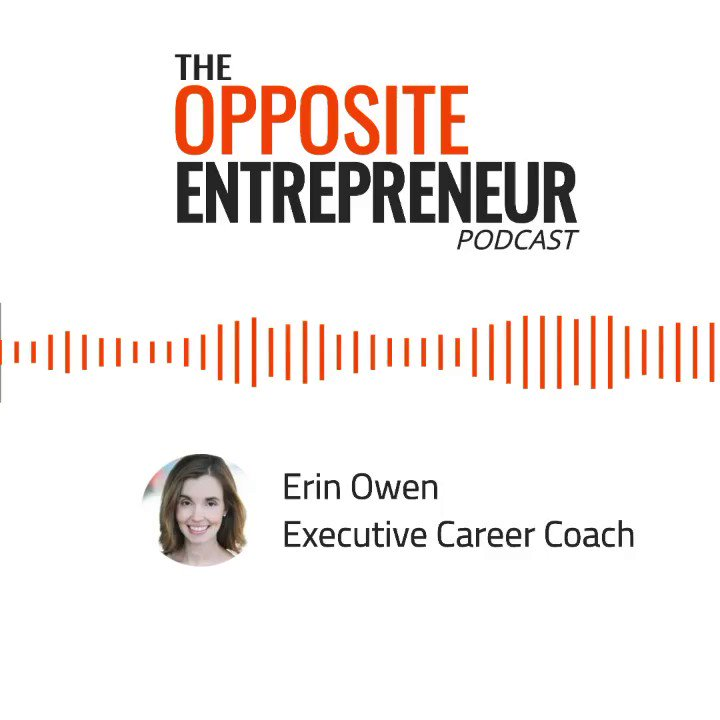 Image for the Tweet beginning: Executive Career Coach Erin Owen