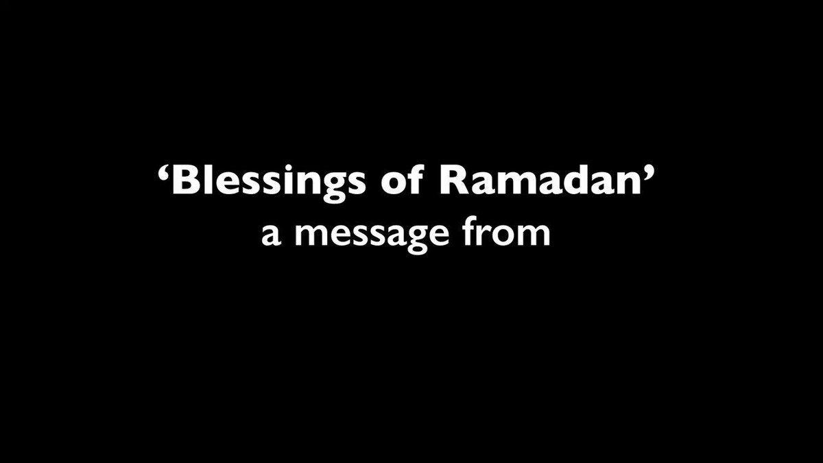 A message from Yusuf on the Blessings for all those observing the holy month of Ramadan.  #Ramadan  #PrayAtHome https://t.co/QIHYl2Z8cV