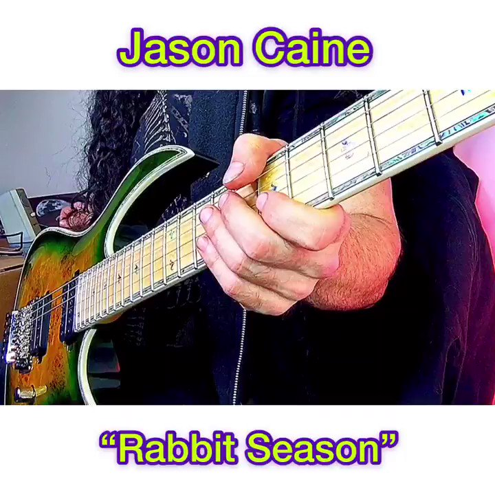 Ever wondered what cartoons w/ a #ShredGuitar #soundstrack would sound like? Here's a #solo I wrote called Rabbit Season. Happy weekend! #guitar #guitarsolo #neoclassical #shred #rocknroll #metal #solo #rockband #rockstar #music #guitarhero #rock #guitarist #original #np #metalpic.twitter.com/kbvJqoCKSe