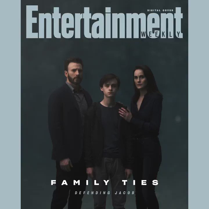 Sometimes family ties and family lies are one in the same. @ChrisEvans, Michelle Dockery, and @jaedenmartell expand on their layered and mysterious @AppleTV series, #DefendingJacob, for our new digital cover story. https://t.co/DPhwloXEqK Story by @devancoggan https://t.co/F5WLm79fG4