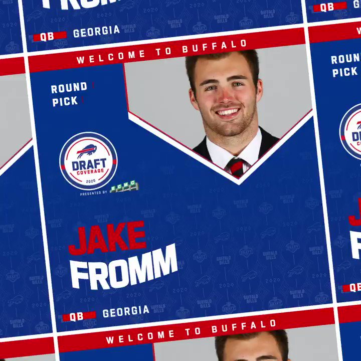 Welcome to Buffalo, Jake Fromm! #GoBills | #NFLDraft