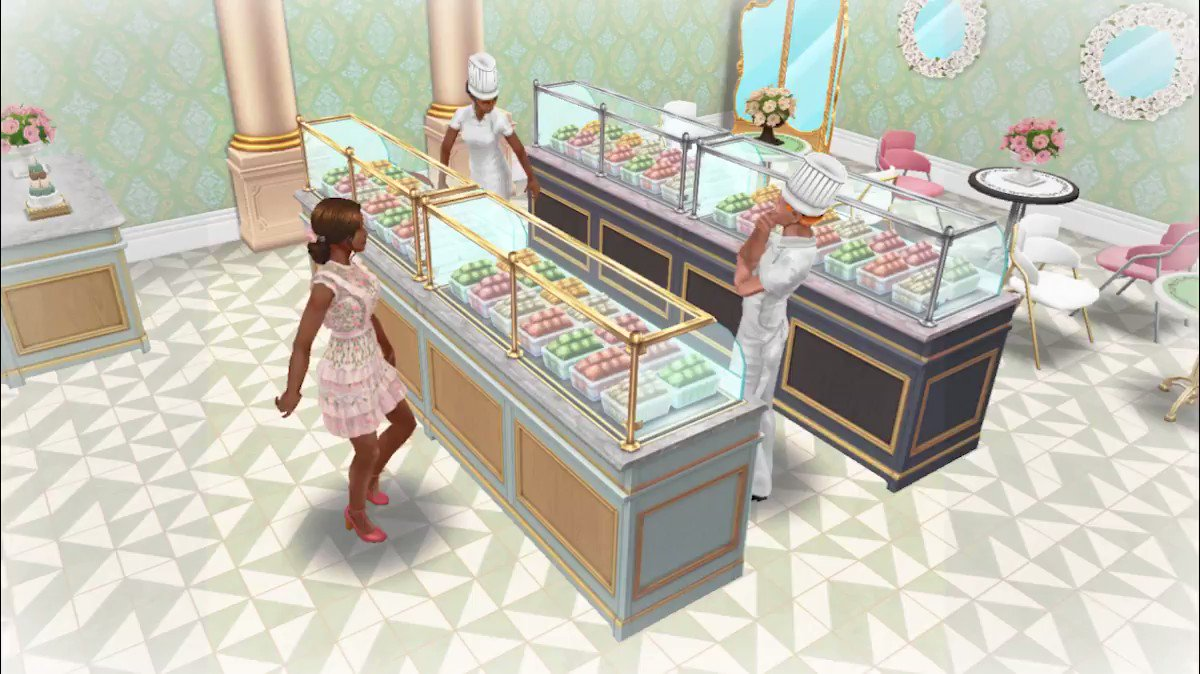 SimChase Season 14 Patisserie Pandemonium is happening now! The French are known for their bite-sized pastries, tarts and delectable desserts, so enjoy the rewards that are filled with macarons. 😋