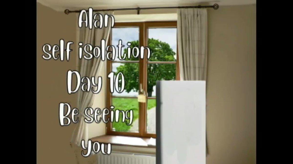 Alan self isolation Day 10 Be seeing you.  #animation #animated #Quarantine #lockdownextension #lockdown #UKlockdown #Icanthearyou #stockpiling #QuarantineLife #ToiletRoll #SocialDistancing #StayHomeSaveLifes #IcanthearyouAlan #SelfIsolation 2