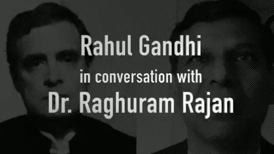 Shri @RahulGandhi ji will be interacting with the former RBI Governor Dr. Raghuram Rajan on critical issues of #COVID19 and its impact on the economy. Tune in 9am tomorrow @INCMaharashtras social media platforms to watch the interaction.