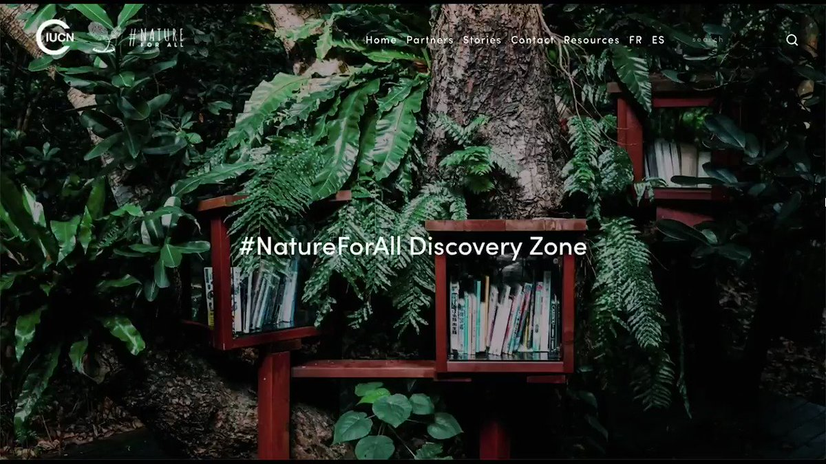 Image for the Tweet beginning: Welcome to the #NatureForAll Discovery