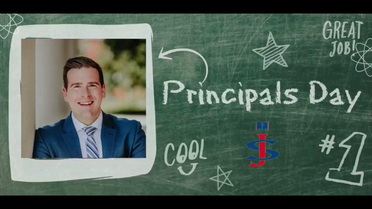 Image for the Tweet beginning: Happy #PrincipalsDay to our very