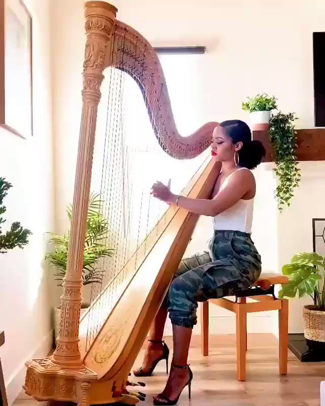 The Boy is Mine but in Harp.....