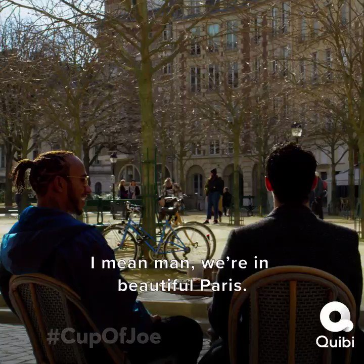 So much fun exploring Paris with @joejonas! Go check out the latest episode of #CupOfJoe.  Out on @Quibi now 🙌🏾