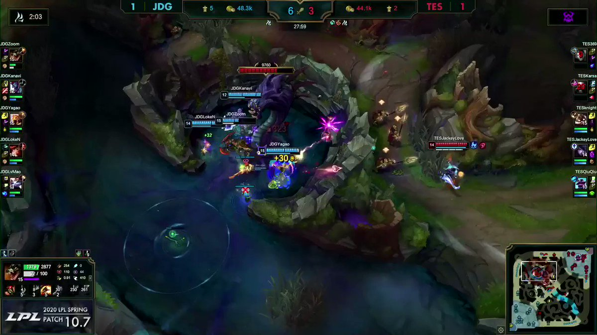 JACKEYLOVE AND KNIGHT GO HAM AS TES TAKE EVERYTHING FROM JDG! #LPL watch.lolesports.com/live/lpl/lpl