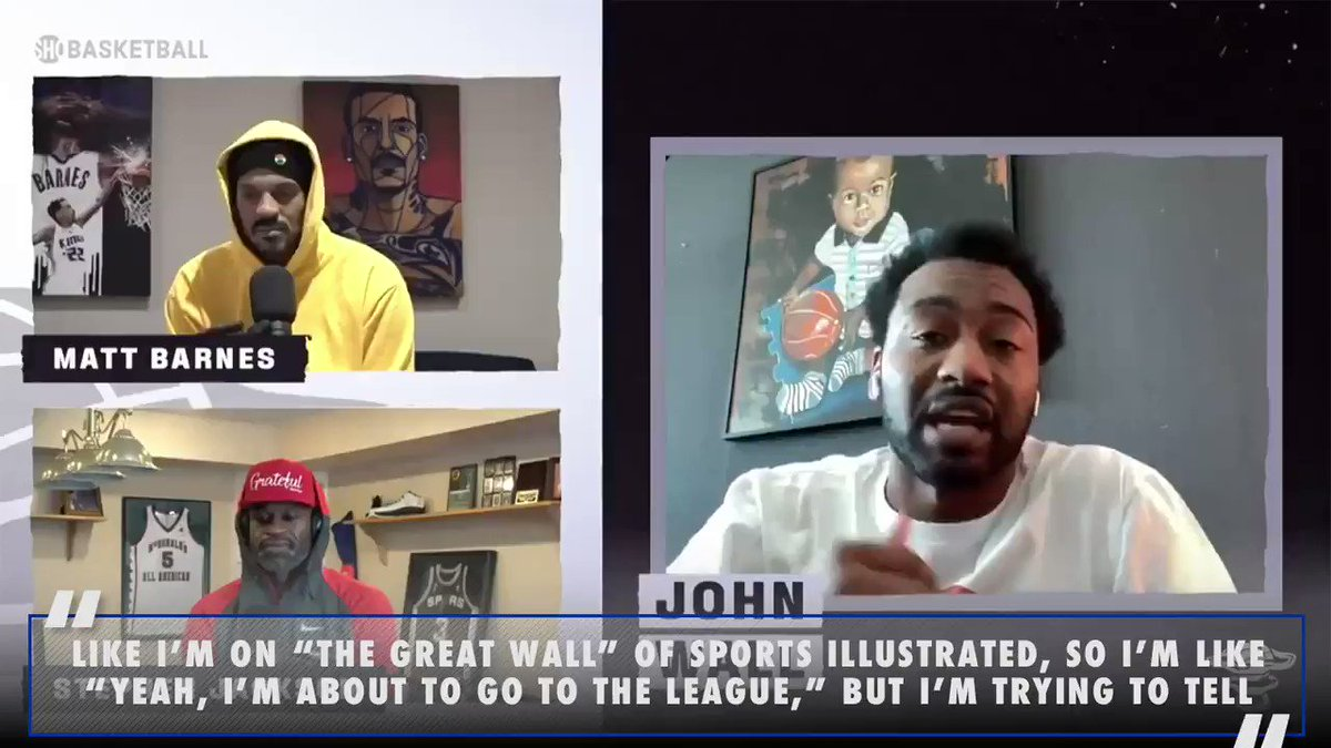 .@JohnWall has always been all about #LaFamilia (🎥 ALL THE SMOKE youtu.be/IfZ3lUJlXD4)