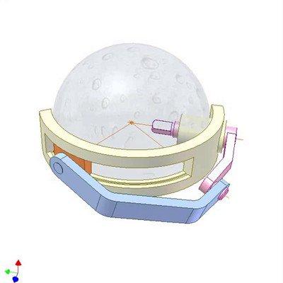 Spherical Slider-Crank Mechanism
