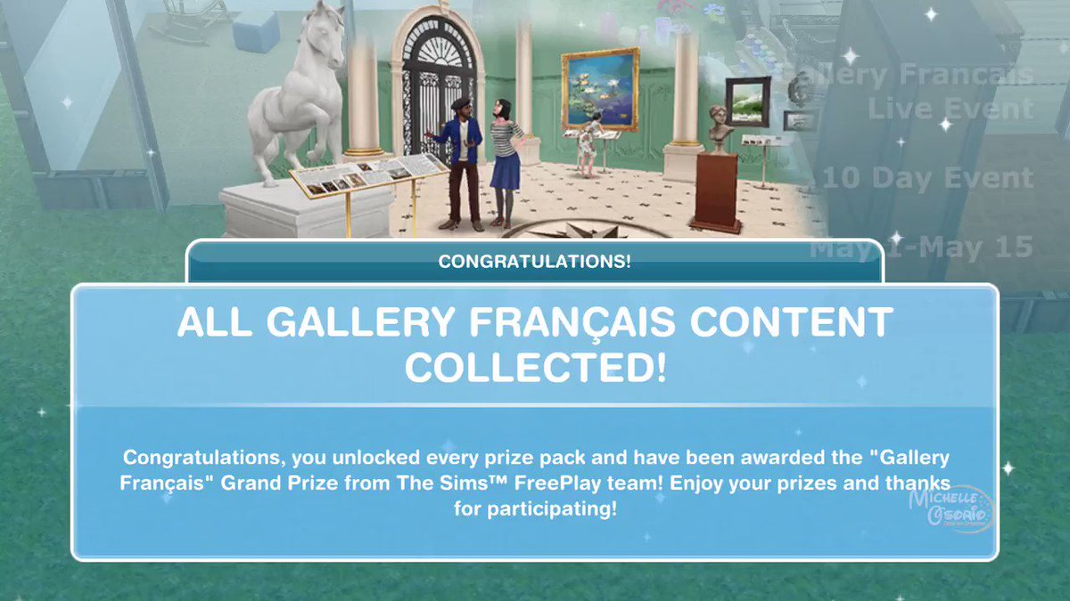 Who is excited for the free Star Wars May the 4th pack from @TheSimsFreePlay tomorrow? Heres my quick list of Gallery Francais game updates for May-June 2020. P.S. - Yes, thats really me playing accordion in the beginning! Getting FRENCH! youtu.be/-SPARjLl3kA #simefreeplay