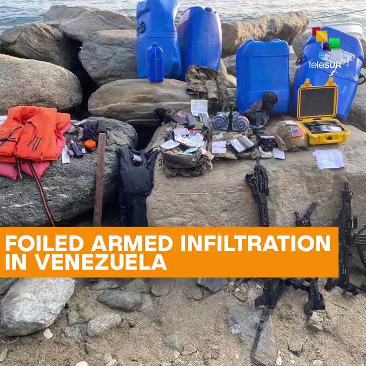 The U.S.-backed plans to destabilize #Venezuela continue.
