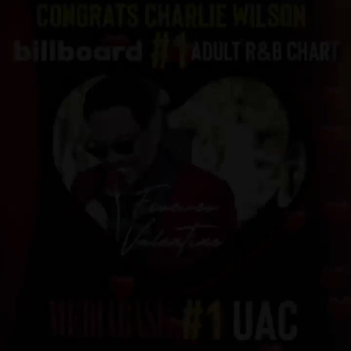 Congrats to @PMusicGroup client @CharlieWilson! His new single #ForeverValentine hit #1 this week on the @billboard Adult R&B chart and Mediabase Urban Adult Contemporary chart! 🎉🥇 https://t.co/itY9QBnSvE