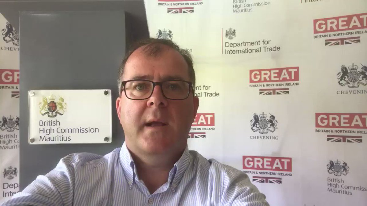 Video message from the British High Commissioner to #Mauritius for British visitors and other vulnerable nationals. @FCOtravel #StayHomeSaveLives #COVID19 🇬🇧🇲🇺 https://t.co/WgxHj044ym