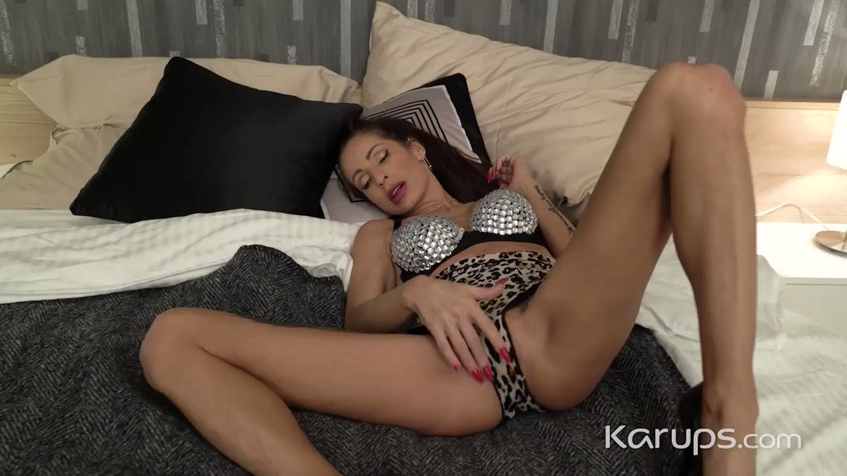 Karups update - If you like your mature women dirty, then youll love tatted up, pierced up, brunette MILF Valentina as she uses her vibrator to make her older pussy cum with pleasure. Watch it now at Karups.com