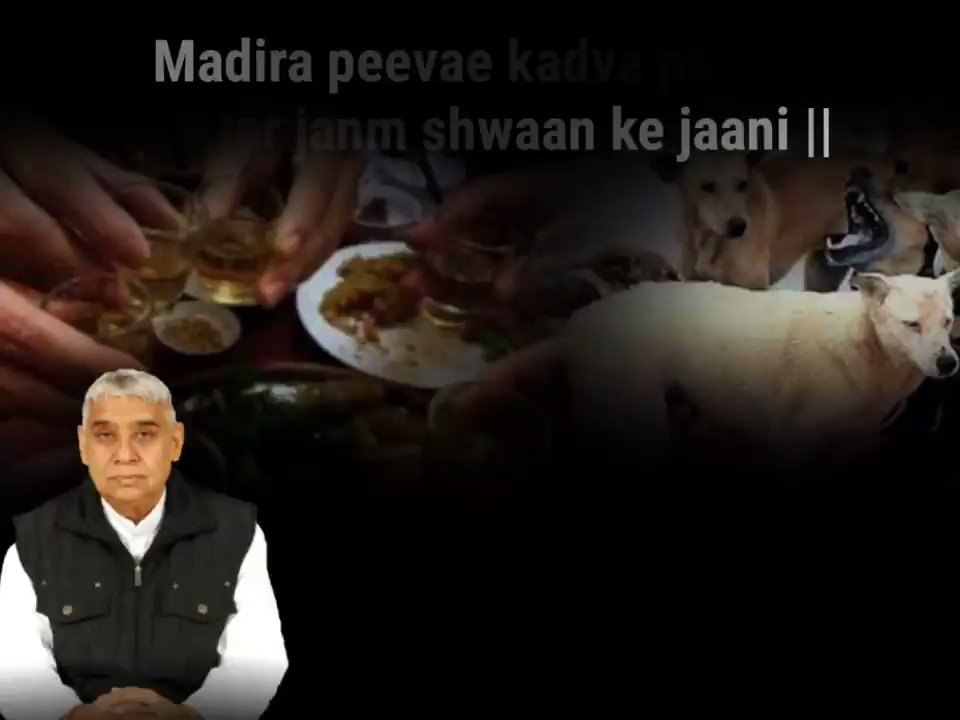 #GodMorningWednesday Quit all the intoxicants and vices, live the life of a human being. Let the civilised society also live in peace. - Sant Rampal Ji Maharaj #S pic.twitter.com/KsYvFHji2b