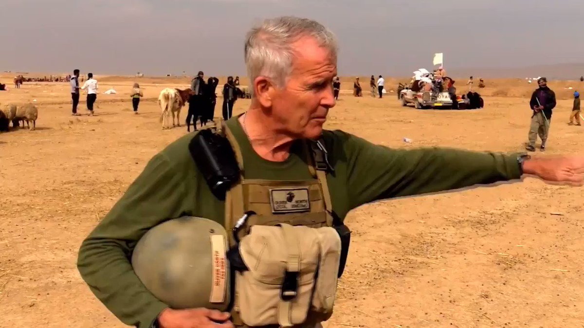 Lt. Colonel @OliverLNorth asked me what motivated me to take on the work of @SamaritansPurse...