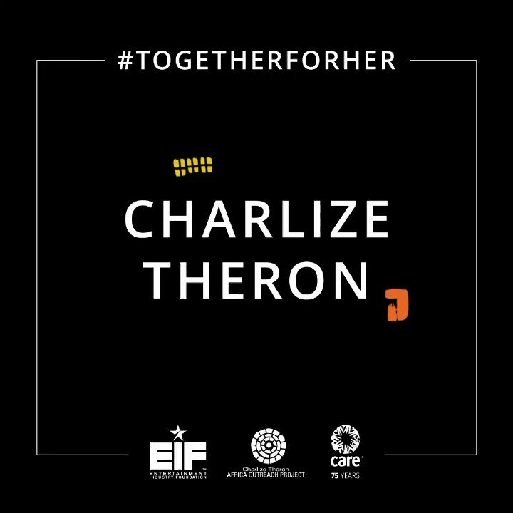 Im so proud that these exceptional, powerhouse women heard my rallying cry & are uniting as one, #TogetherForHer, alongside @CARE & @EIFoundation. We are a movement spotlighting & funding interventions to help keep women & girls safe from abuse. Join us: care.org/togetherforher