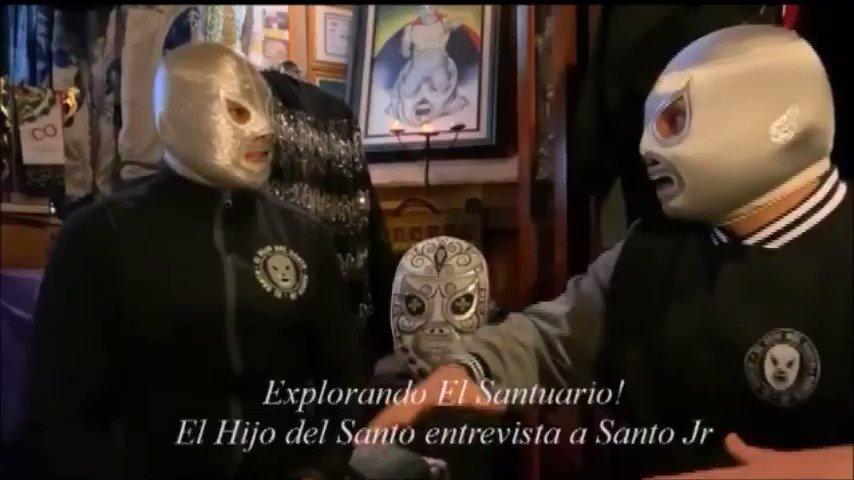 Acompáñenos en esta entrevista exclusiva a mi hijo @santojrworldwide en Explorando El Santuario. 👇🏼 https://t.co/Hml1T2QDXj  YouTube: El Hijo del Santo HDS  #elhijodelsanto #santojr #elsanto #elenmascaradodeplata #luchalibre #luchalibremexicana https://t.co/ohhdQSdSnE