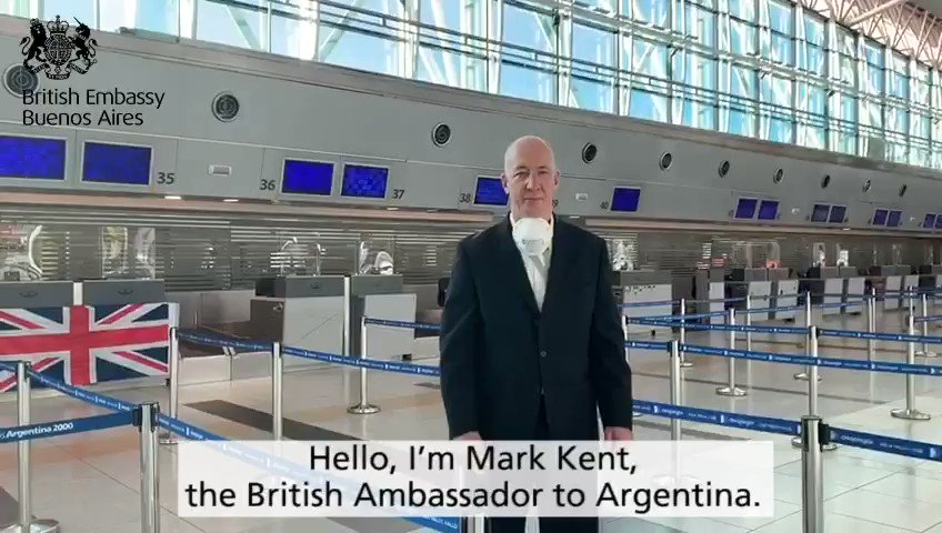 🛫 Wheels up for our first UK Government chartered flight taking 238 British Nationals and direct dependants from Buenos Aires back to their homes in the UK 🇬🇧  This required a huge and complex operation to enable people to move within Argentina to get on the flight. https://t.co/lsXjv5gS1f