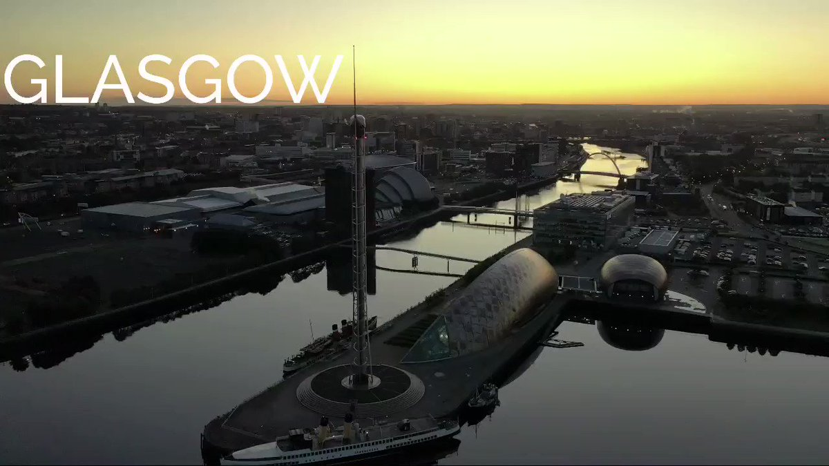 Glasgow, youre a fighter. Yer das delivering bread to the nation. Yer neighbour is curing the population. ❤️ Video from @HawkAyeScotland Poem from @_Erinboyle_