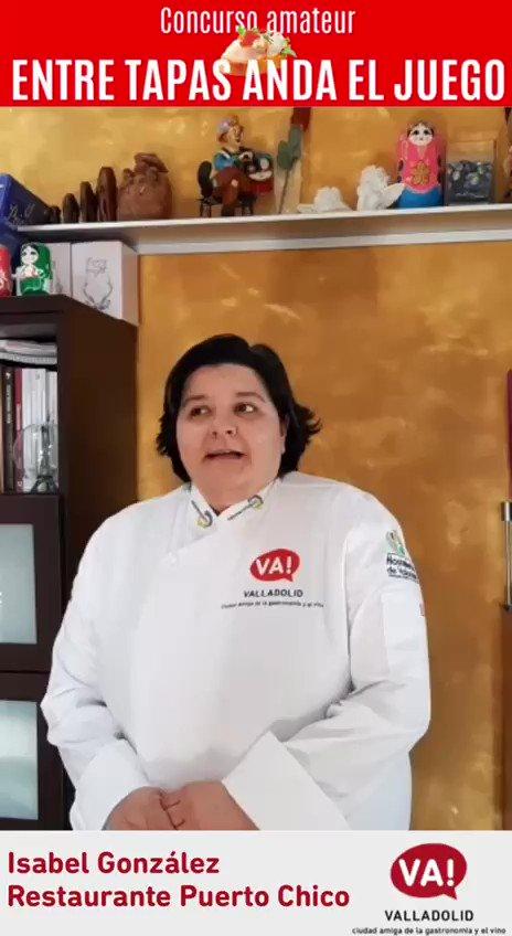 Si no se puede comer en un solo bocado, no es una tapa ganadora. Para Isabel González (@PuertoChicoVall) es un requisito imprescindible. Aplícalo a tu receta #EntreTapasAndaElJuego 🔗 ow.ly/vgLv50zzr21 #ValladolidContigoSabeMejor @SaboreaVLL @Apehva @CNPinchosVLL