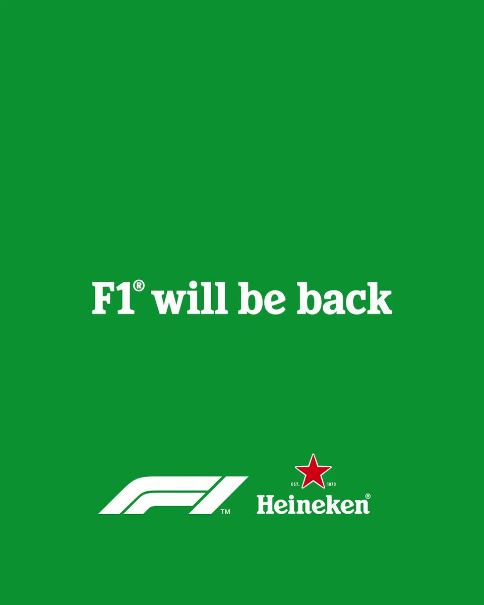 Sit tight and #SocialiseResponsibly like Sir Jackie. @F1 will be back soon. https://t.co/3imBO4pVYq