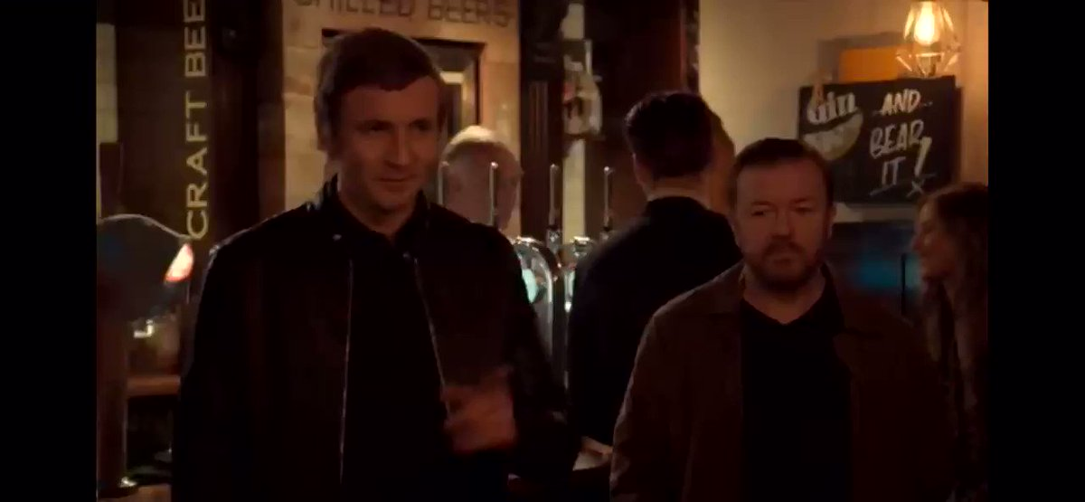 The greatest @rickygervais outtake of all time. 😂 #AfterLife2