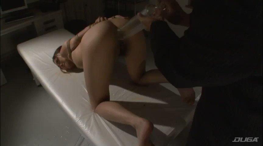 Sado博士 - アナルファック泣き叫ぶ女を拘束して浣腸してケツ穴に突っ込む