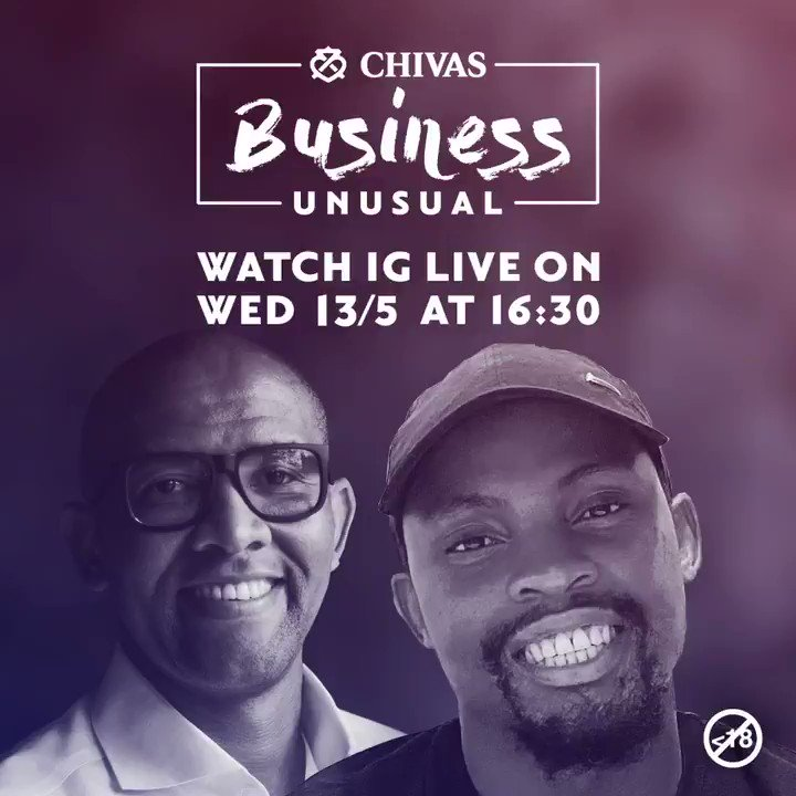 This week on Chivas Business Unusual, @andile_khumalo will be catching up with Kutlwano Pitso: entrepreneur, creative thinker and founder of the multi-faceted @MojaCafe Tune in for Chivas Business Unusual: the show that blends new business challenges with expert advice.