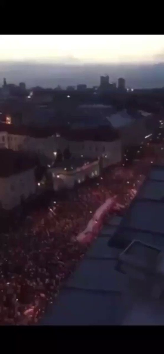 Berlin.. This is what America better do!!.. Assemble as 1, if we want our country back!!.. #WWG1WGA #MANNA