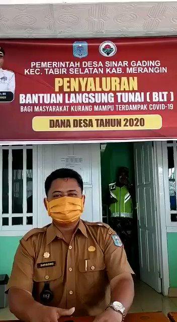 Penyaluran BLT DD 2020 #BLTDDBerkah  #jambi #merangin #tppi_tabir_selatan   @Jokowi @halimiskandarnu @anwsanusi @imansyukri @malik_haramain @taufikmadjid71 @fachrilabalado @EdiEndra09 @Bujenggo
