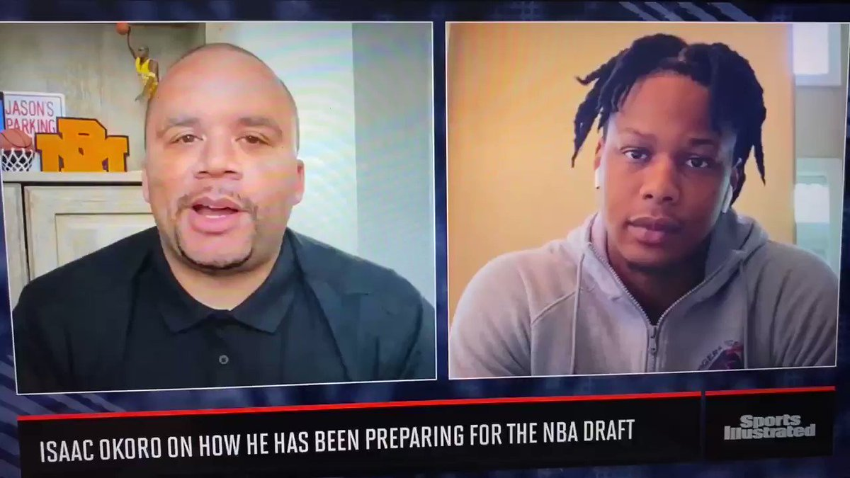 Sat down with @isaacokoro303 to talk decision to remain in the 2020 @NBADraft, @AuburnMBB, @coachbrucepearl, how being underrated in HS fueled him and more. Full 🎥 link ⬇️ https://t.co/uEKOqa3NQK https://t.co/at0Rz1hOwJ
