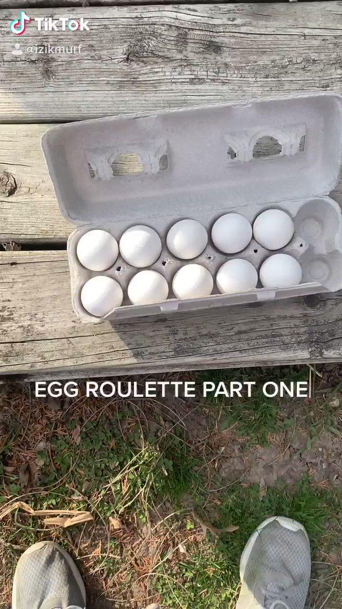 Egg roulette 🤣
