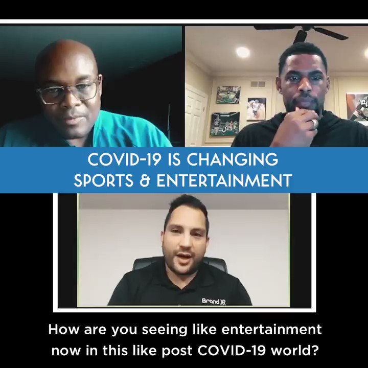 Customers may not be in a hurry to be in large crowds and people have gotten comfortable consuming content at home. How can live sports and entertainment adjust to the new normal of customer behavior? #COVID19 #COVIDー19 #sports #entertainment #createseparation