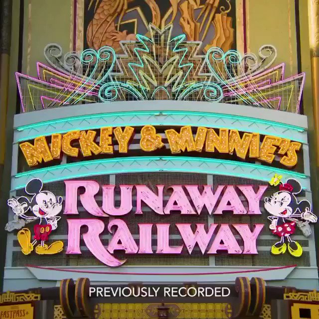 Race over to #DisneyNOW to experience @waltdisneyworld Resort magic at home with a zany cartoon AR game, Mickey & Minnie's Runaway Railway: Adventure Kit, inspired by the brand-new attraction where #MouseRulesApply (that means anything goes!)🚂🚂🚂#DisneyMagicMoments