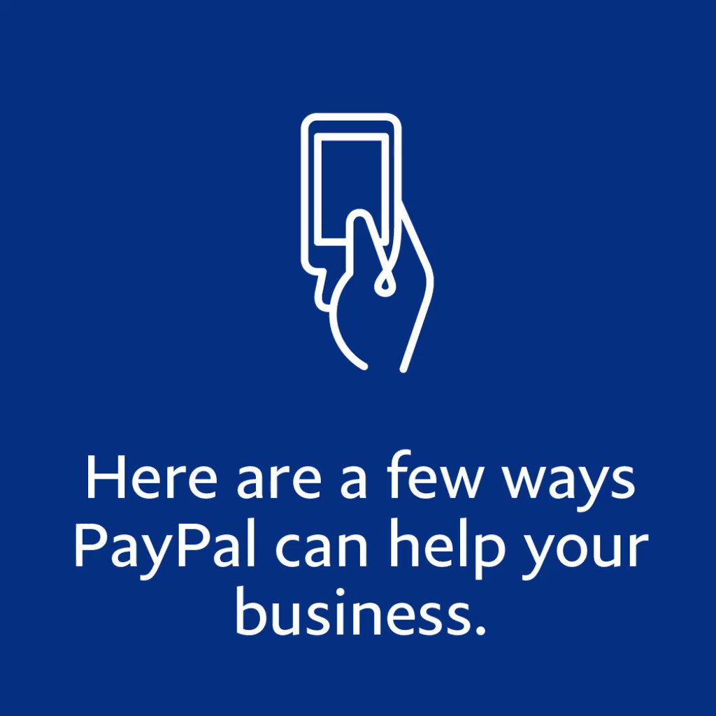 Image for the Tweet beginning: PayPal has simple and powerful