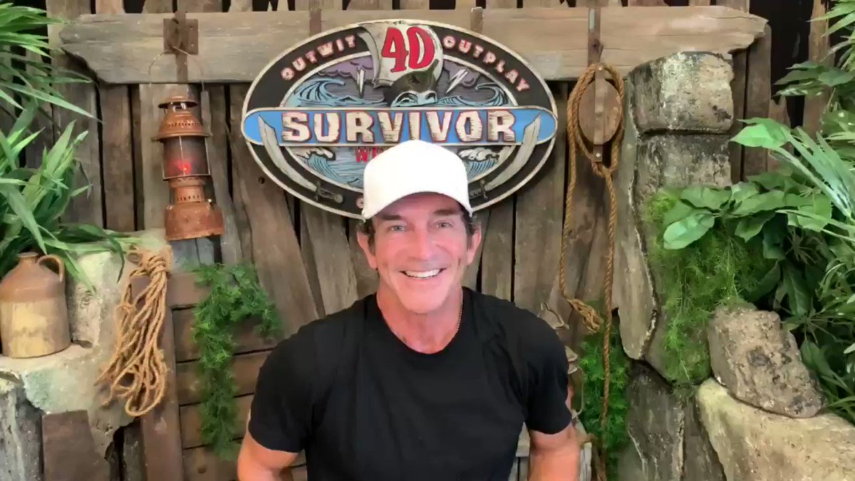 I am getting ready for tomorrow's season finale of #Survivor: Winners at War... from my garage. @survivorcbs