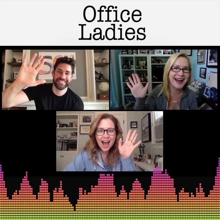 Today on Office Ladies podcast we are breaking down Casino Night with special guest @johnkrasinski who reveals HE HAS THE TEAPOT! Lots a great stuff on this episode! @AngelaKinsey officeladies.com/episodes