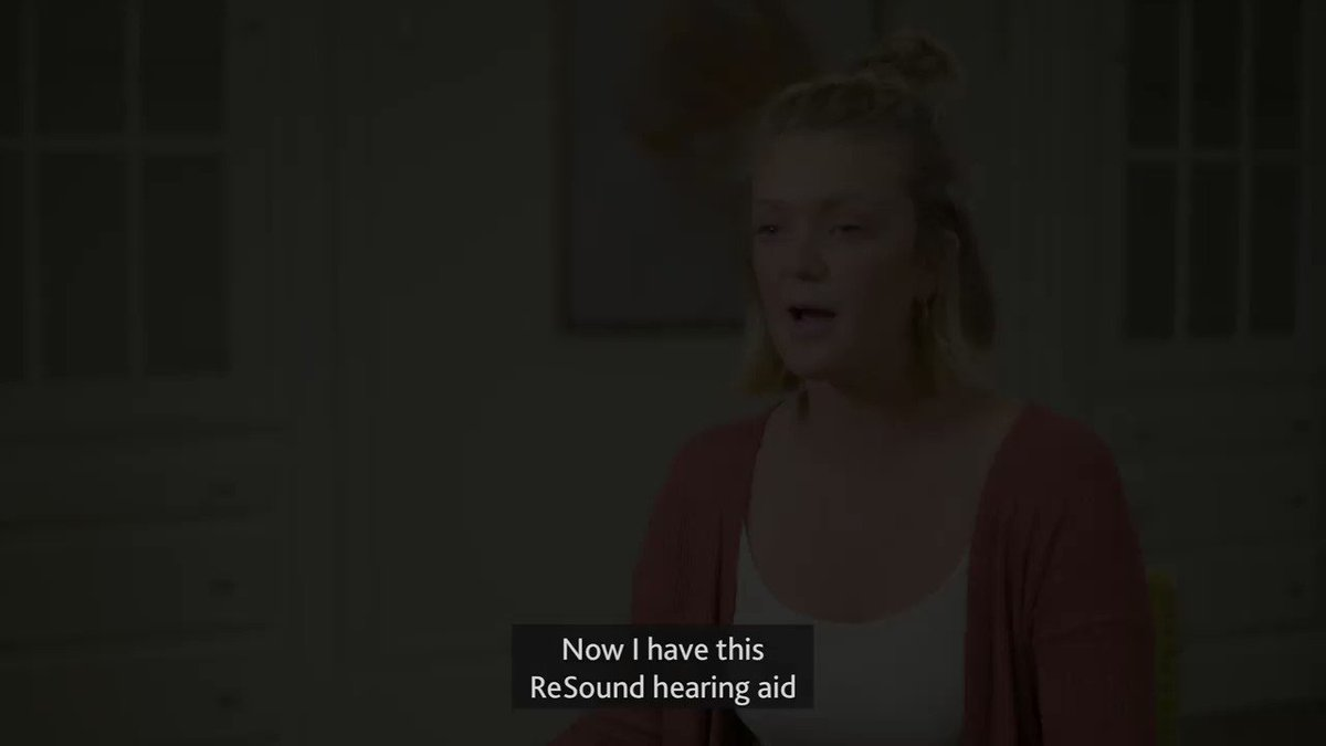 Carly can now hear where a sound is coming from, not just hear the sound, using her @GNResoundNL hearing aid on one ear and #Cochlear implant on the other. Find out more about bimodal hearing at cochlear.com/bimodal #SmartHearingAlliance #BimodalHearing #HearingAids