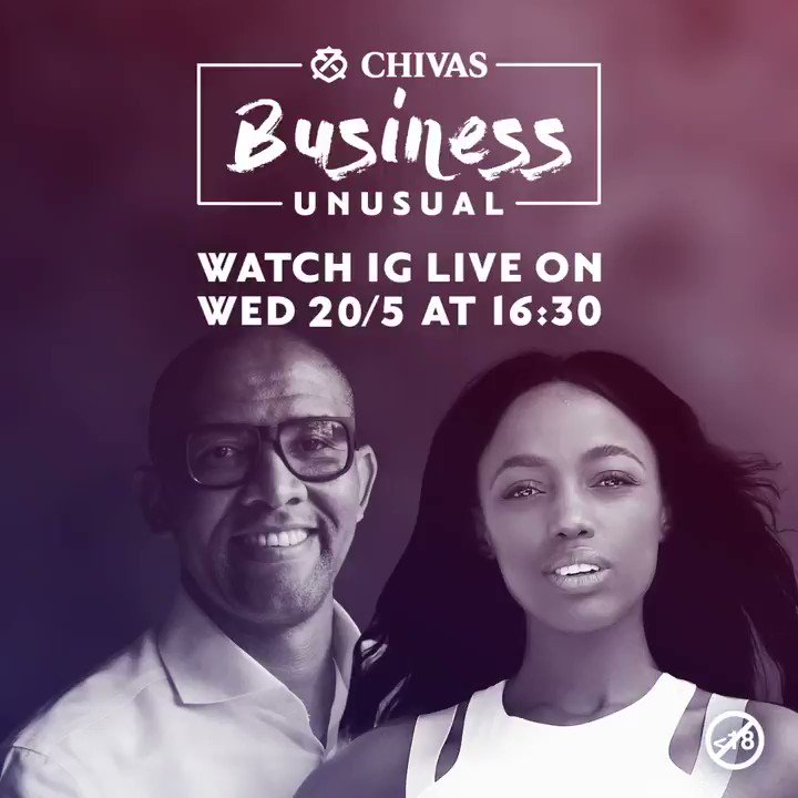This week on Chivas #BusinessUnusual @Andile_Khumalo speaks to Juanita Khumalo @Juanita_Khumalo, an entrepreneur and founder of Trove Wellness, a health and wellness website which is dedicated to providing a holistic approach to leading a healthy lifestyle. #SuccessIsABlend