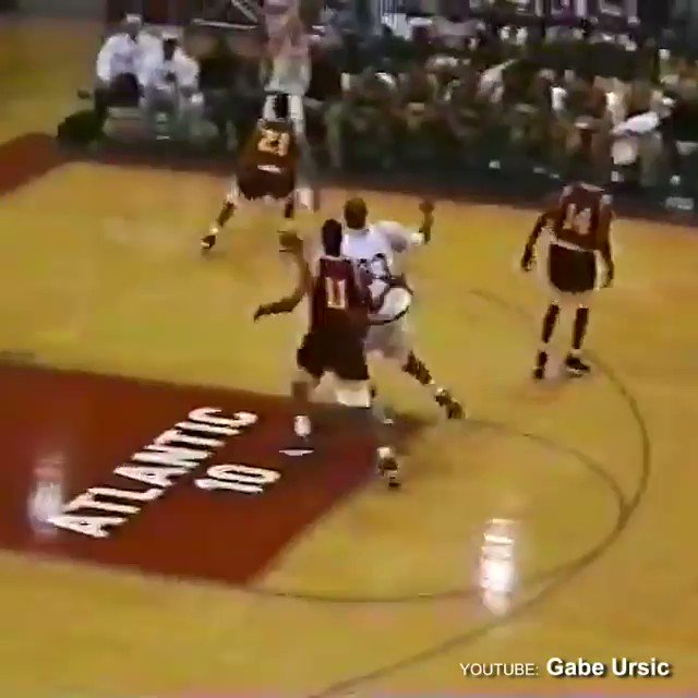 High school Kobe was so bored he was trying absurd shit like this