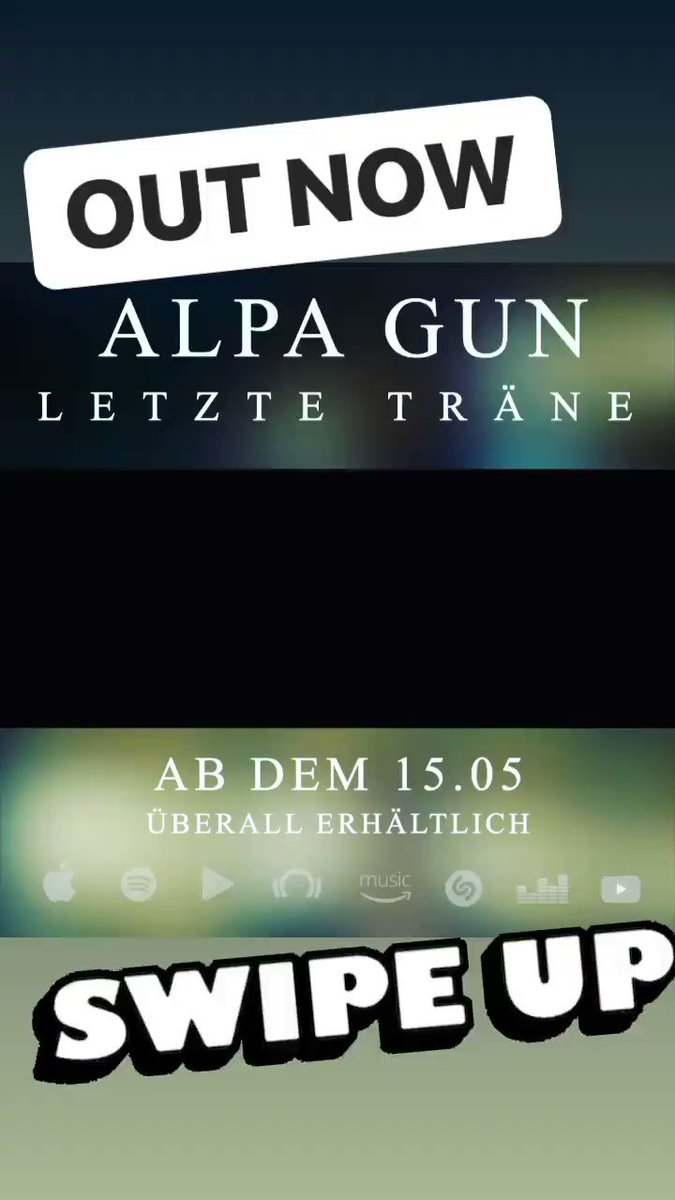 Out now 🔻 letzte Träne   https://t.co/4I0zcTtpFh https://t.co/kahBufcsYI