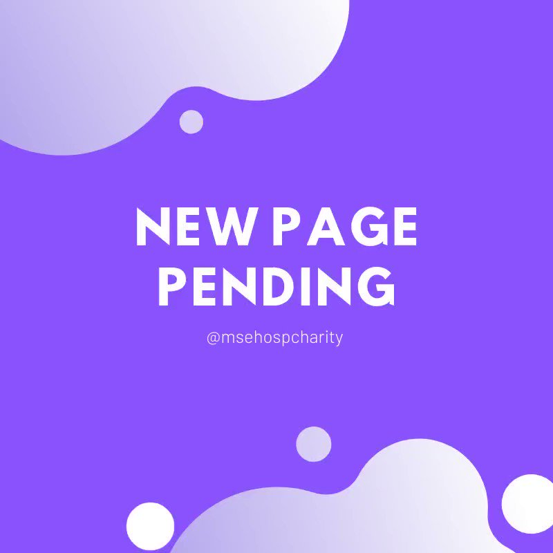 Reminder: We are closing this page today! For charity updates, events and news please go follow @MSEHospCharity We cant wait to tell you all what we have planned! #charity #newpage #followfriday #msehospcharity