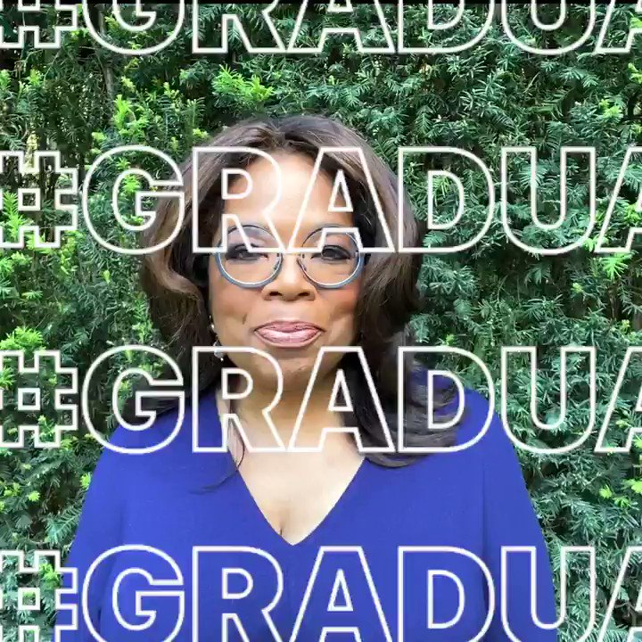 ✨@Oprah is here 💖with a very special message 🎓for the class of 2020 🤩that you don't want to miss instagram.com/tv/CAOL3ySAOyy #Graduation2020