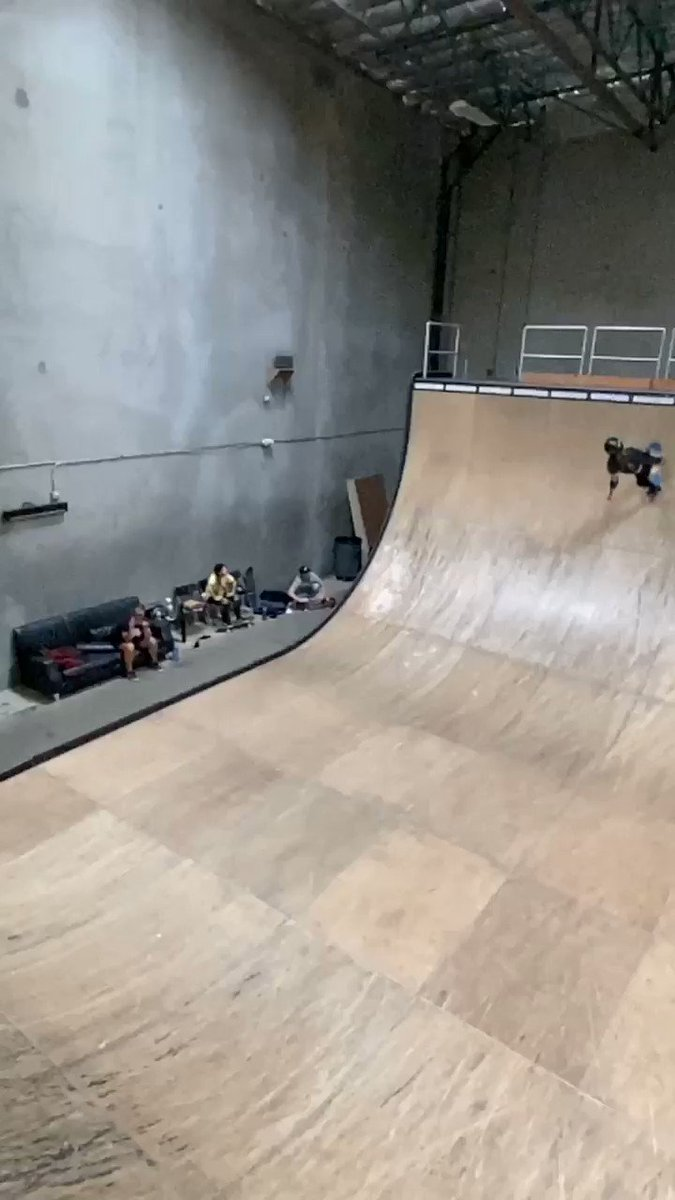 Today's lesson in perseverance: Sky Brown's brutal McTwist battle. You can't teach this kind of determination; it comes from someplace deep within.