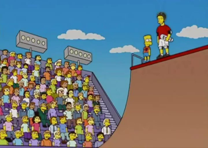 That time I helped Homer to rule our pseudo sport.