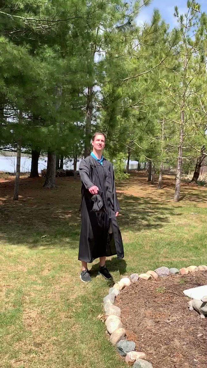 So proud of our Drake graduate, Andrew Larson. #deardrake2020